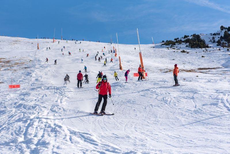 Wintersportgebieden in Andorra