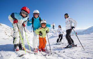 Skischolen in Zwitserland